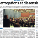 Interrogations et dissensions – DNA